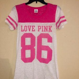 PINK Victoria Secret Love Pink 86 Shirt